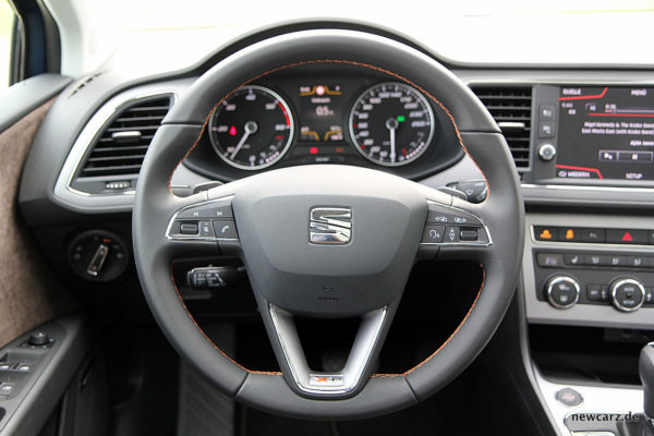 Seat Leon ST X-Perience Lenkrad