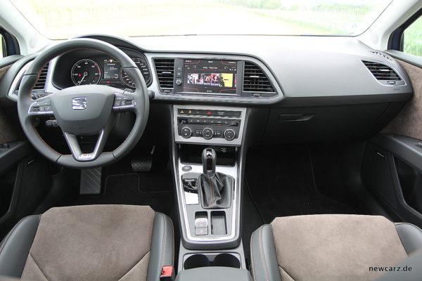 Seat Leon ST X-Perience Armaturenbereich