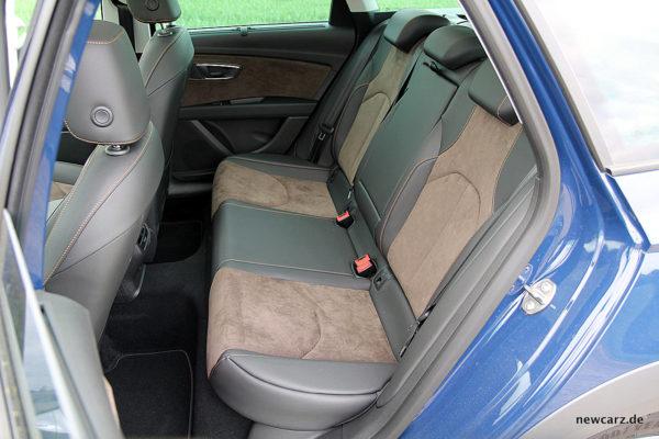 Seat Leon ST X-Perience Rückbank