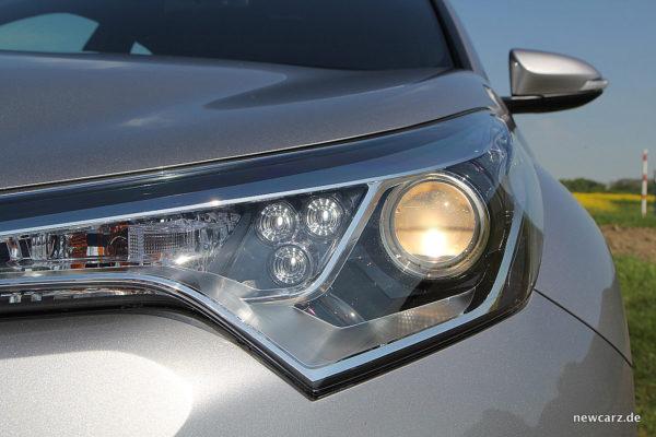 Toyota C-HR Halogenscheinwerfer