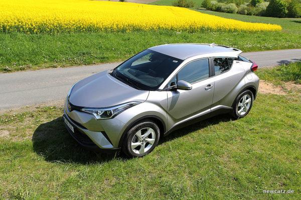 Toyota C-HR schräg oben