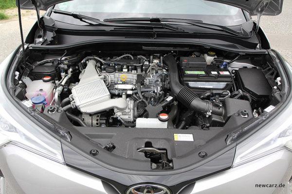 Toyota C-HR Motorraum