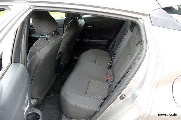 Toyota C-HR Rücksitze