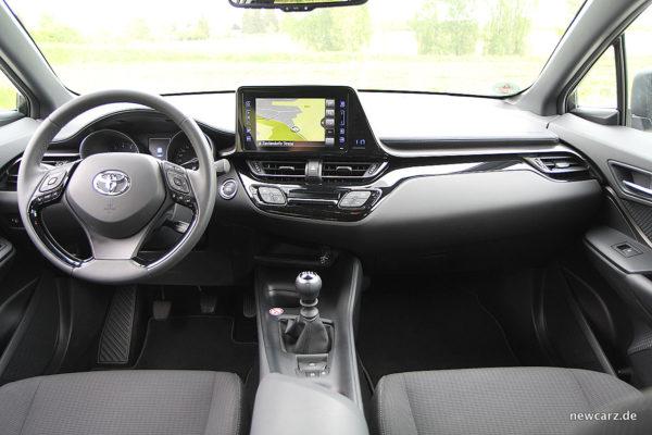 Toyota C-HR Armaturenbereich