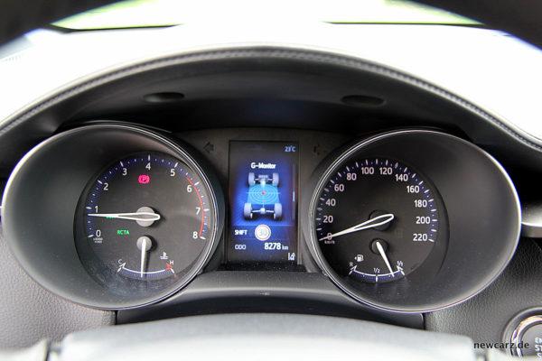 Toyota C-HR Kombiinstrument