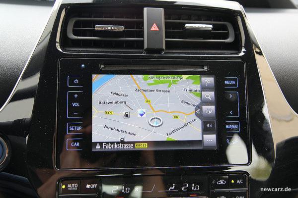 Toyota Prius IV Navi