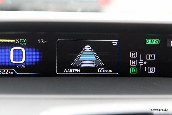 Toyota Prius IV Tempomat