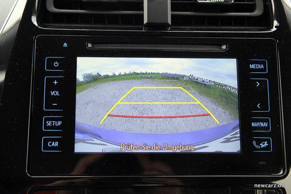 Toyota Prius IV Rückfahrkamera