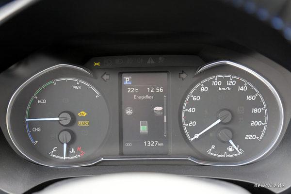 Toyota Yaris 2017 Kombiinstrument