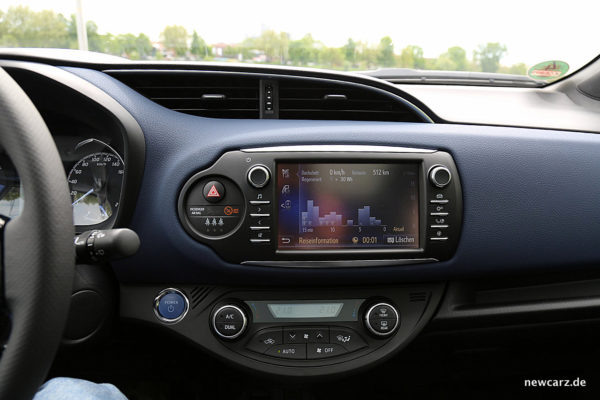 Toyota Yaris 2017 Touchscreen