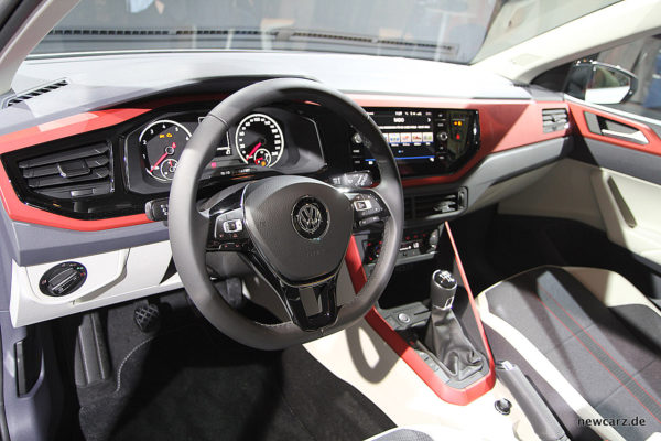 VW Polo 2017 Beats Cockpit