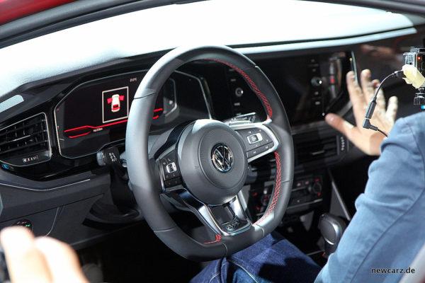 VW Polo 2017 GTI Lenkrad