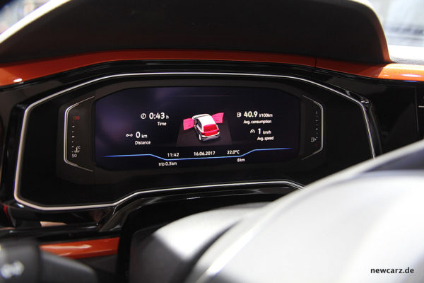 VW Polo 2017 Active Info Display