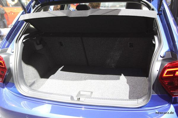 VW Polo 2017 Kofferraum