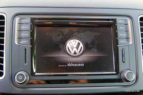 VW Sharan Touchscreen
