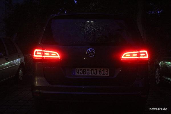 VW Sharan Heckleuchten