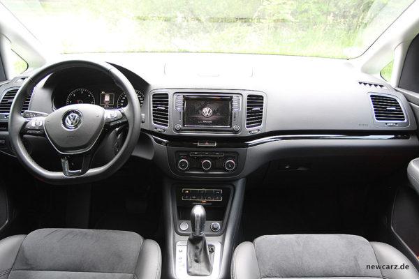 VW Sharan Armaturenbereich