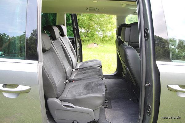 VW Sharan 2. Sitzreihe
