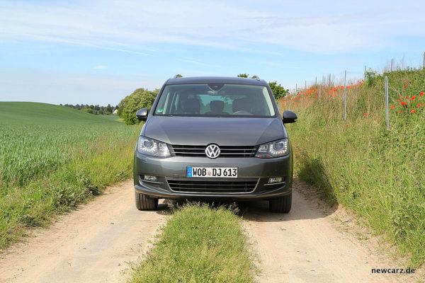 VW Sharan Front