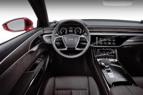 Audi A8 2018 Cockpit