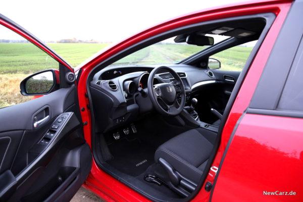 Honda Civic Sport Interieur
