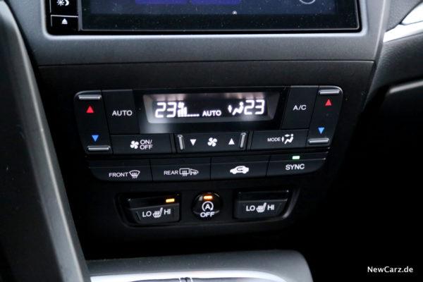 Honda Civic Sport Klimaanlage