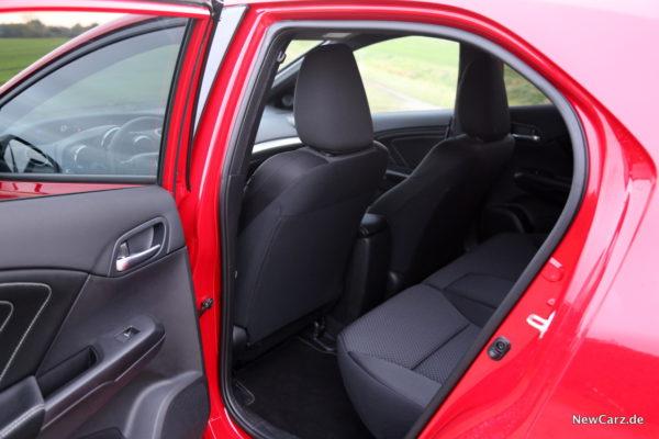 Honda Civic Sport Rückbank