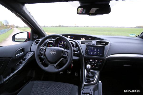 Honda Civic Sport Innenraum