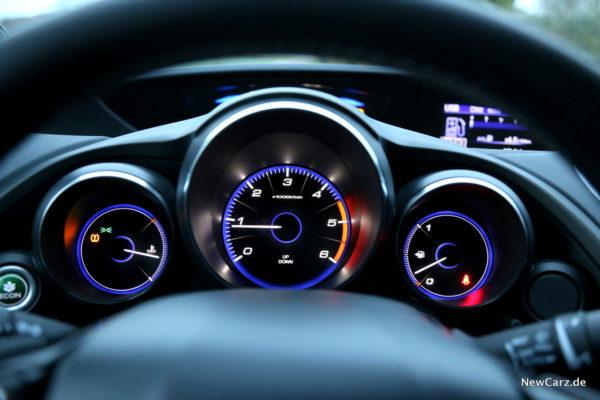 Honda Civic Sport Tacho