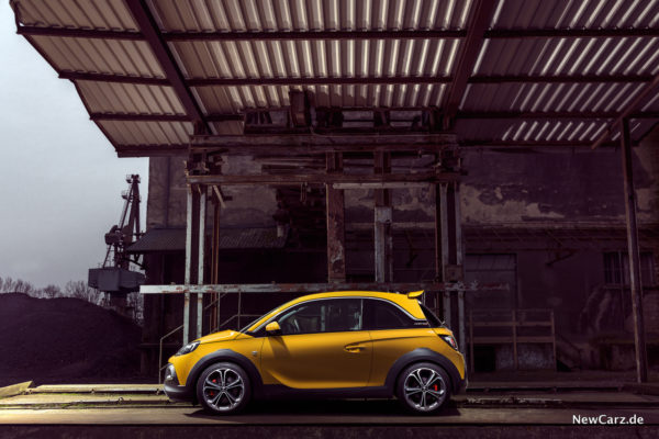 Opel Adam Rocks S Seite