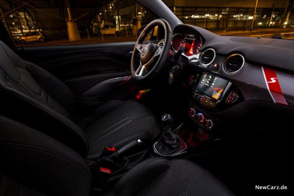 Opel Adam Rocks S Innenraum