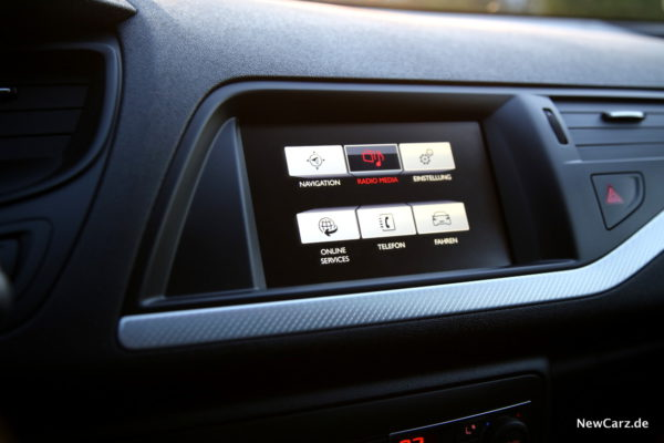Citroen C5 Tourer Infotainment