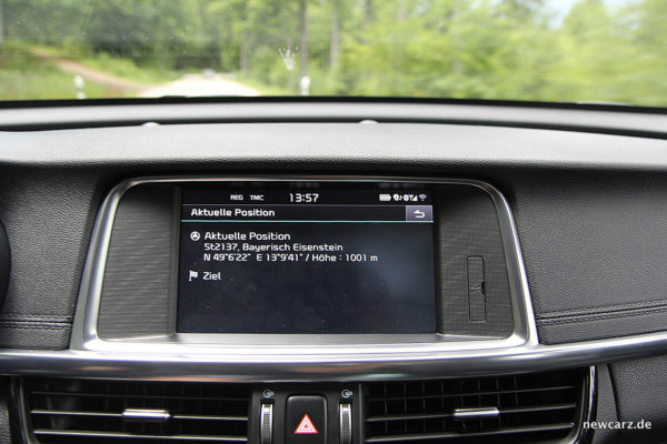 Kia Optima Touchscreen