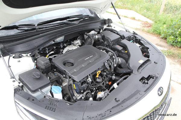 Kia Optima Motorraum