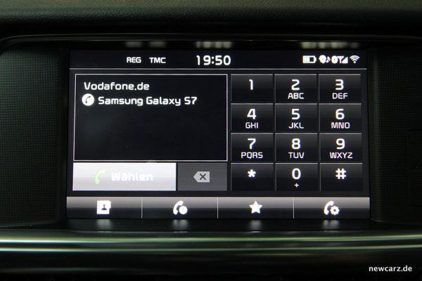 Kia Optima Telefonfunktion