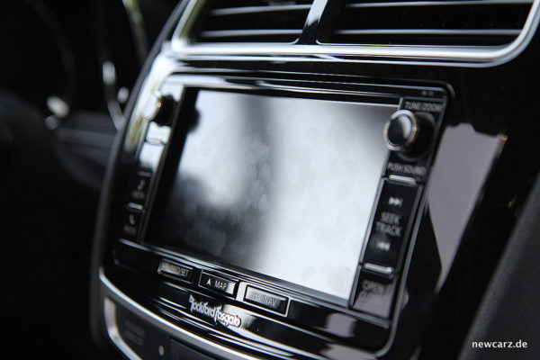 Mitsubishi ASX Touchscreen