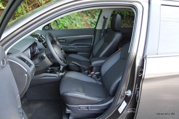 Mitsubishi ASX Fahrersitz