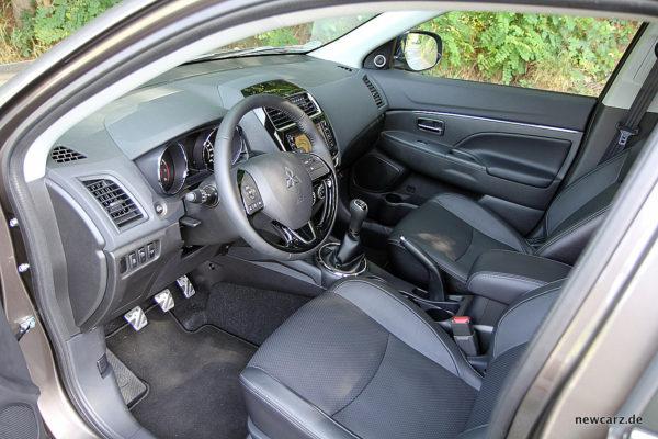 Mitsubishi ASX Interieur
