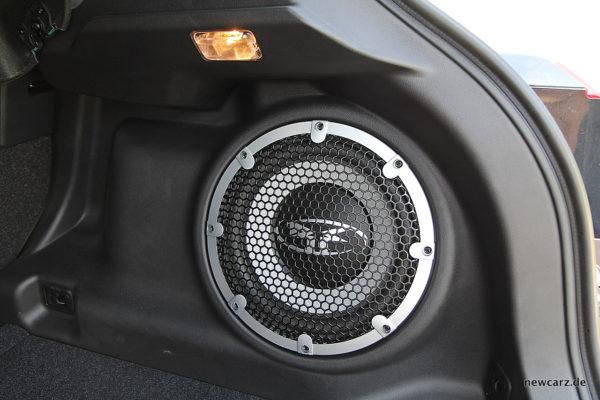 Mitsubishi ASX Woofer