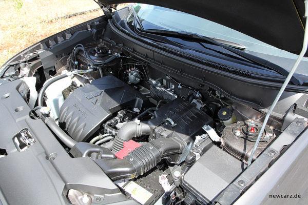 Mitsubishi ASX Motorraum