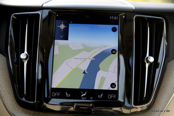Volvo XC60 Touchscreen