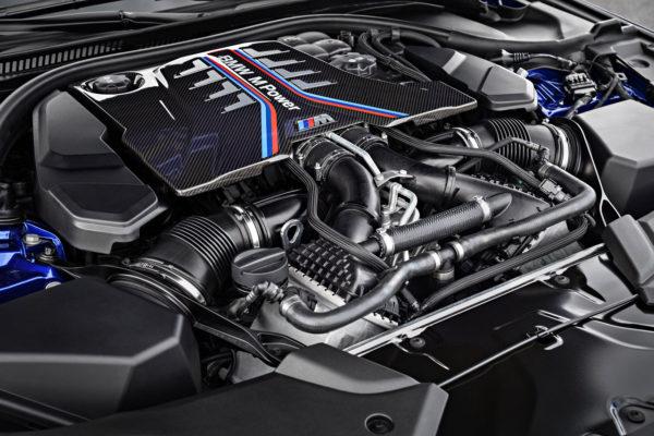 BMW M5 2017 Motor