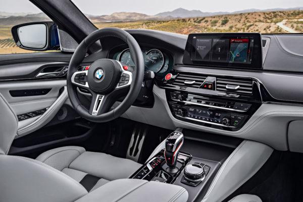 BMW M5 2017 Interieur