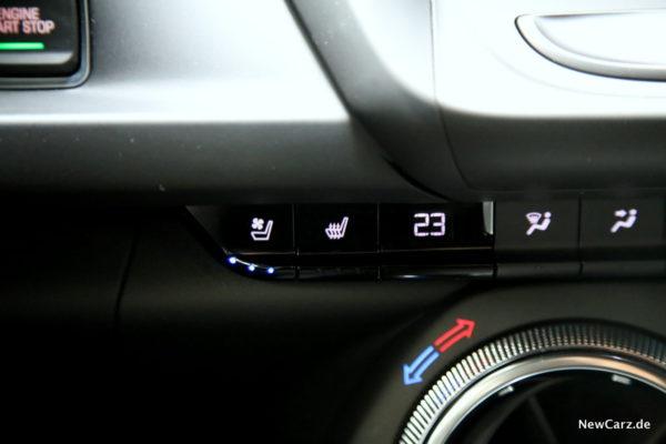 Chevrolet Camaro Convertible Sitzbelüftung