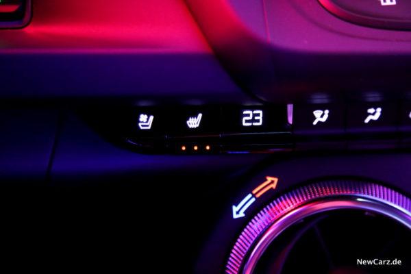 Chevrolet Camaro Convertible Sitzheizung