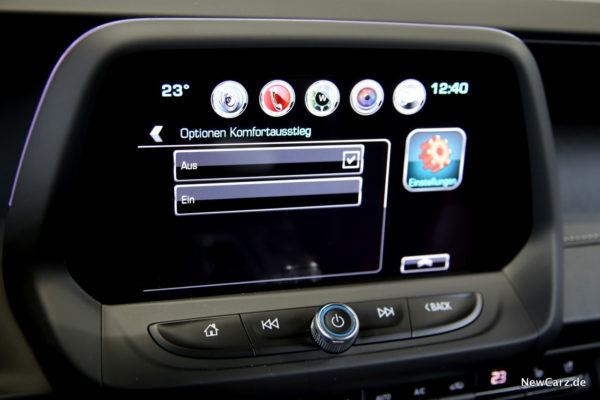 Chevrolet Camaro Convertible Komfortausstieg