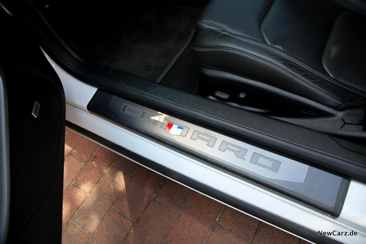 Chevrolet Camaro V8 Sitze