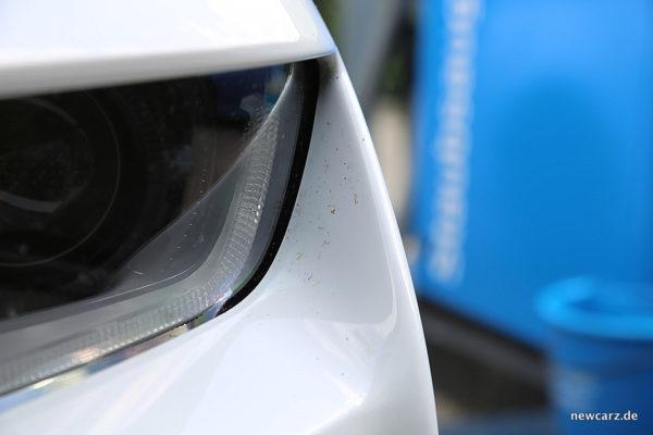 Chevy Camaro Cabriolet Dauertest Frontkante