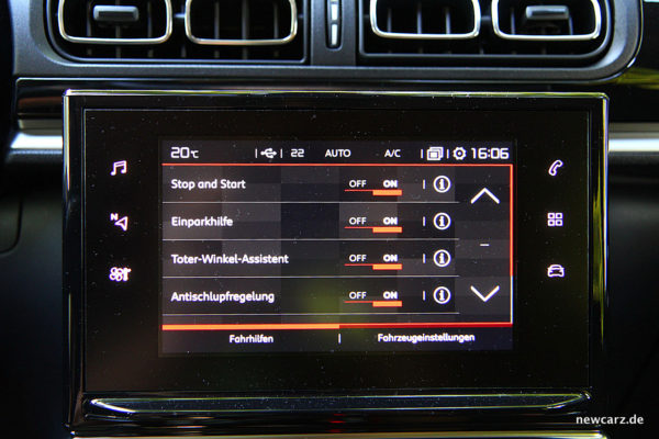 Citroen C3 2017 Touchscreen