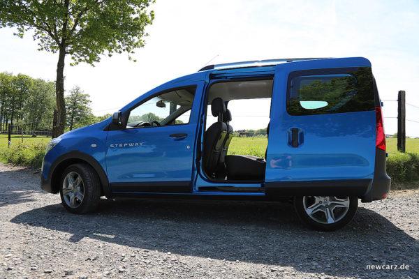 Dacia Dokker Stepway Schiebetüren